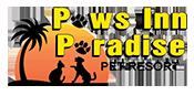 Paws Inn Paradise Logo